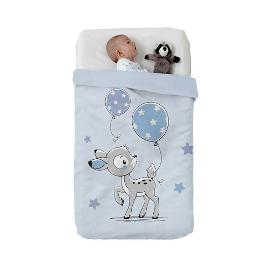 Κουβέρτα Baby Vip Deer Blue , Manterol
